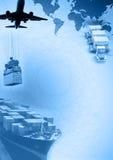 Frachtschablone Stockfoto