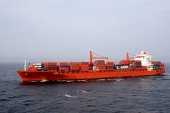 Frachtschiff Stockfoto