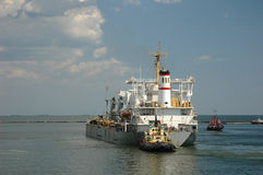 Frachtschiff Lizenzfreie Stockfotografie
