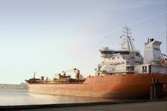 Frachtschiff Lizenzfreie Stockbilder