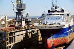 Frachtschiff Lizenzfreies Stockbild