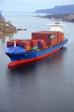 Frachtschiff CALISTO Stockfotos