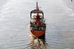 Frachtschiff GULIZAR ANEKDOTEN lizenzfreies stockfoto