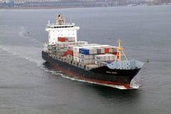 Frachtschiff WARNOW VAQUITA Stockfotos
