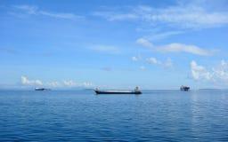 Frachtschiffe stockbild
