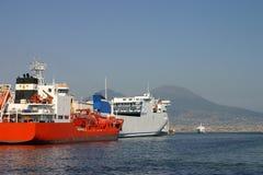 Frachtschiffe Lizenzfreie Stockfotos