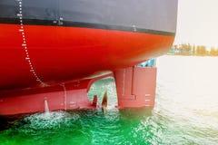 Frachtschiffreparatur lizenzfreie stockfotos