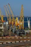 FrachtSeehafen stockbild