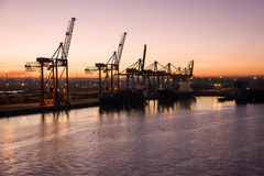 FrachtSeehafen, Casablanca, Marocco Lizenzfreie Stockfotos