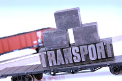 frachtu transport zdjęcie stock