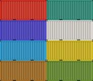 Frachtversandverpackungen für Frachttransport Lizenzfreie Stockbilder