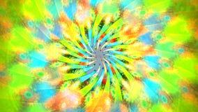 Fractalöglasbakgrund med abstrakta former Höjdpunkt specificerad ögla lager videofilmer
