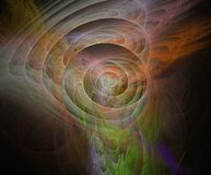 Fractal απεικόνιση πολύχρωμη απεικόνιση αποθεμάτων