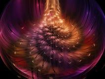 Fractal αφηρημένος φαντασίας χρώματος σύγχρονος έννοιας διακοσμήσεων φαντασίας μοναδικός δυναμικός ανθών ταπετσαριών επίδρασης σκ Στοκ φωτογραφία με δικαίωμα ελεύθερης χρήσης