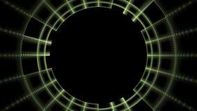 Αμφιβληστροειδής Cyber. Στοκ Φωτογραφία