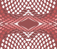 Fractal γεωμετρικός ημίτονος απεικόνισης Στοκ εικόνα με δικαίωμα ελεύθερης χρήσης