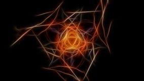 Fractal γραφικό σχέδιο έργου τέχνης abstract lights Fractal σειρά συμμετρίας μεταξιού Στοκ Εικόνες