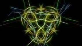 Fractal γραφικό σχέδιο έργου τέχνης abstract lights Fractal σειρά συμμετρίας μεταξιού Στοκ Φωτογραφίες