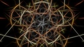 Fractal γραφικό σχέδιο έργου τέχνης abstract lights Fractal σειρά συμμετρίας μεταξιού Στοκ εικόνα με δικαίωμα ελεύθερης χρήσης