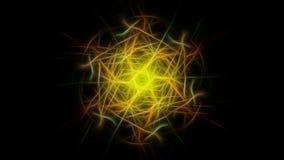 Fractal γραφικό σχέδιο έργου τέχνης abstract lights Fractal σειρά συμμετρίας μεταξιού Στοκ φωτογραφία με δικαίωμα ελεύθερης χρήσης