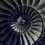 Fractal επίδρασης φτερών λεπίδων στροβίλων σπειροειδές αφηρημένο υπόβαθρο σχεδίων Σπειροειδές υπόβαθρο στροβίλων βιομηχανικής παρ Στοκ Φωτογραφίες