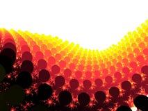 fractal θέατρο ανθρώπων στοκ εικόνα