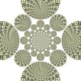 Fractal διακόσμηση δολαρίων Στοκ Εικόνες