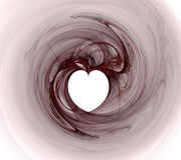 fractal καρδιά Στοκ εικόνα με δικαίωμα ελεύθερης χρήσης