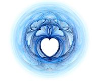 fractal καρδιές ελεύθερη απεικόνιση δικαιώματος
