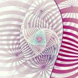 Fractal κορδέλλα διανυσματική απεικόνιση