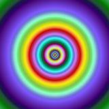 fractal κύκλων ζωηρόχρωμος στόχος εικόνας Στοκ φωτογραφία με δικαίωμα ελεύθερης χρήσης