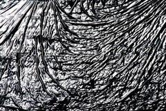 fractal λουλουδιών σχεδίου καρτών ανασκόπησης μαύρο καλό λευκό αφισών ogange Στοκ Φωτογραφία