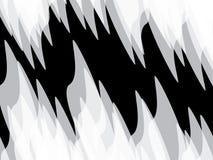 fractal λουλουδιών σχεδίου καρτών ανασκόπησης μαύρο καλό λευκό αφισών ogange Στοκ Εικόνες
