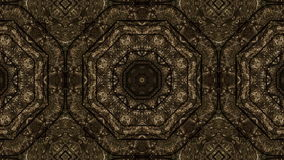 Fractal μωσαϊκών γεωμετρικός kaleidoscopic διανυσματική απεικόνιση