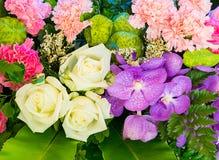 fractal λουλουδιών ανασκόπησης όμορφη εικόνα Στοκ Φωτογραφία