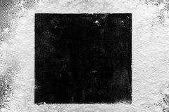 fractal λουλουδιών σχεδίου καρτών ανασκόπησης μαύρο καλό λευκό αφισών ogange Στοκ Φωτογραφίες