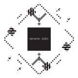 fractal λουλουδιών σχεδίου καρτών ανασκόπησης μαύρο καλό λευκό αφισών ogange Στοκ εικόνες με δικαίωμα ελεύθερης χρήσης