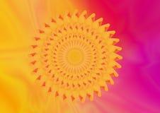 Fractal λουλούδι Στοκ Εικόνα
