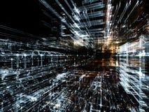 Fractal παγκόσμιες τεχνολογίες Στοκ εικόνες με δικαίωμα ελεύθερης χρήσης