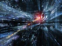 Fractal παγκόσμιες τεχνολογίες Στοκ Εικόνες