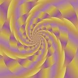 Fractal σχέδιο Χρωματισμένο σπειροειδές υπόβαθρο Στοκ φωτογραφία με δικαίωμα ελεύθερης χρήσης