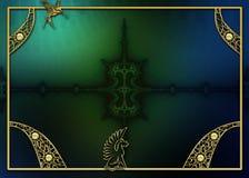 fractal σχεδίου ανασκόπησης φ&omega Στοκ φωτογραφία με δικαίωμα ελεύθερης χρήσης