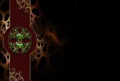 fractal σχεδίου ανασκόπησης φ&omega Στοκ εικόνα με δικαίωμα ελεύθερης χρήσης