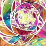 fractal σχεδίου καρτών ανασκόπησης καλή αφίσα στοκ φωτογραφία με δικαίωμα ελεύθερης χρήσης