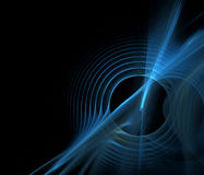 fractal υγιές κύμα Στοκ εικόνες με δικαίωμα ελεύθερης χρήσης