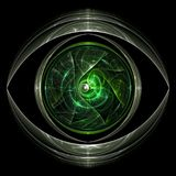 Πράσινο μάτι Στοκ Εικόνα