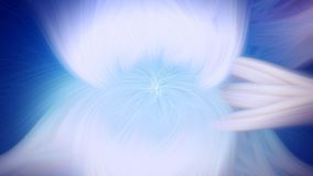 Fractal φλογών μπλε προεξοχή υποβάθρου φως σκηνικού ελεύθερη απεικόνιση δικαιώματος