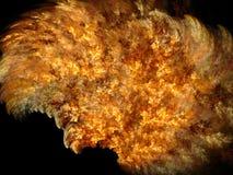 fractal φλογών Στοκ Φωτογραφίες