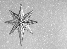 fractal Χριστουγέννων αστέρι νύχτας εικόνας Στοκ Φωτογραφία