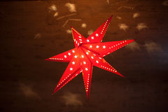 fractal Χριστουγέννων αστέρι νύχτας εικόνας Στοκ Εικόνα